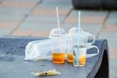 Plastic garbage Stock Photography