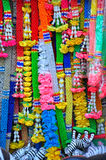 Plastic of GARLANDS. Colorful garlands for placeful Stock Images