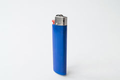 Plastic gas lighter, close-up Stock Images
