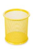 Plastic geïsoleerde container Stock Afbeelding