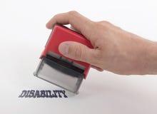 Plastic geïsoleerde zegel ter beschikking, royalty-vrije stock afbeeldingen