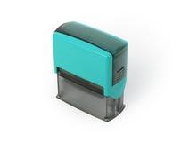 Plastic geïsoleerde zegel ter beschikking, stock fotografie