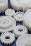 The plastic gear Stock Image