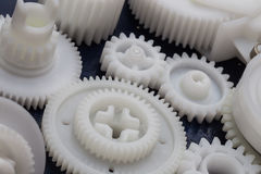 The plastic gear Royalty Free Stock Image