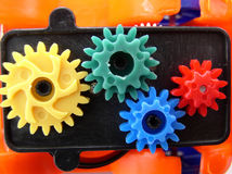 Plastic Gears Stock Images