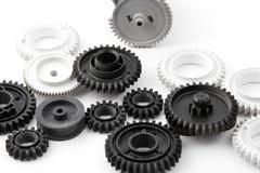 Plastic gears Stock Image