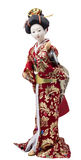 Plastic geisha doll Royalty Free Stock Photography