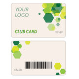 Plastic Gift Cards Royalty Free Stock Photography