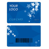 Plastic Gift Cards Stock Images