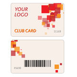 Plastic Gift Cards Royalty Free Stock Image