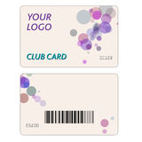 Plastic Gift Cards Royalty Free Stock Photo