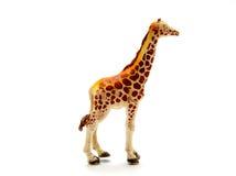 Plastic giraffe Royalty Free Stock Image
