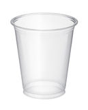 Plastic glass Royalty Free Stock Image