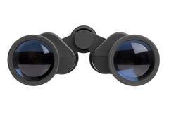 Plastic glasses in black Stock Image