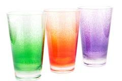 Plastic glasses Stock Image