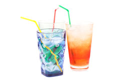 Plastic glasses Royalty Free Stock Images