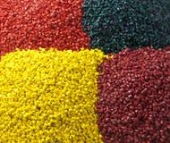 Plastic granule masterbatches Stock Image