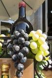 Plastic grape composition Stock Photos