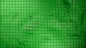 Plastic green cubes background. 3d plastic green cubes background Stock Photos