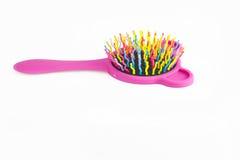 Plastic hair comb Stock Image