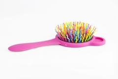 Plastic hair comb Stock Photography