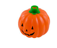 Plastic Halloween Pumpkin Stock Images