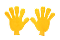 Plastic Hands Royalty Free Stock Images