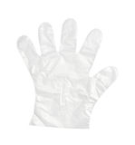 Plastic handschoen Royalty-vrije Stock Afbeeldingen