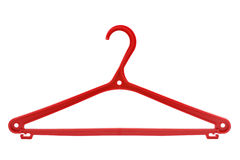 Plastic hanger Royalty Free Stock Images