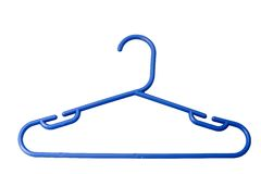 Plastic hanger Stock Photos