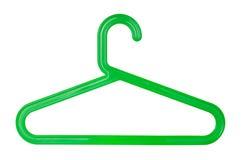Plastic hanger Stock Afbeeldingen