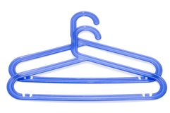 Plastic hanger Royalty Free Stock Image