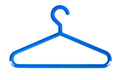 Plastic hanger Stock Image