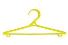Plastic hanger Stock Photography