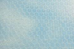 Plastic het patroonachtergrond van de bellenomslag Royalty-vrije Stock Foto's