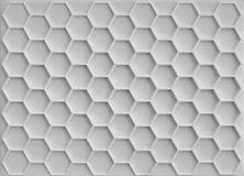 Plastic honeycomb background Stock Images