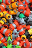 Plastic hose fittings Stock Photography
