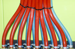 Plastic hoses Stock Photos