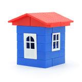 Plastic house Royalty Free Stock Images