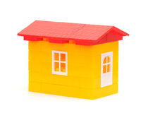 Plastic house Royalty Free Stock Photos