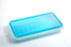 Plastic ice container. Stock Images