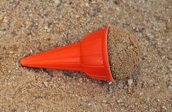 A plastic ice-cream cone Stock Photo