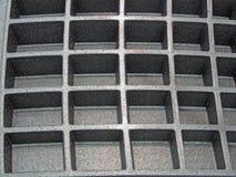 Plastic industriële rechthoektextuur, Royalty-vrije Stock Foto's