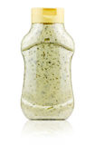 Plastic jar with mayonnaise Stock Photography