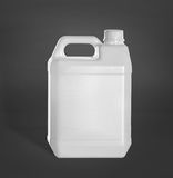 Plastic jerry can Stock Images