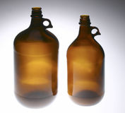 Amber Handled Jugs Royalty Free Stock Photography
