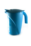 Plastic jug isolated Stock Images