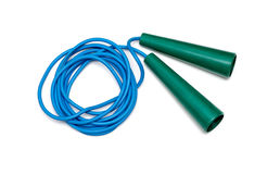 Plastic jump rope Royalty Free Stock Photos