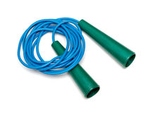 Plastic jump rope Royalty Free Stock Images