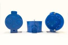 Plastic kabeldoos Stock Afbeeldingen